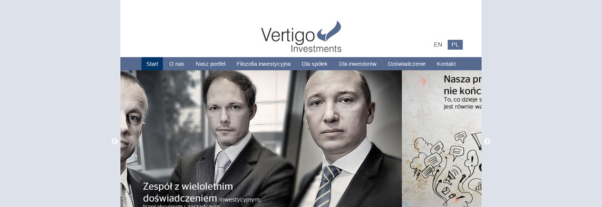 VERTIGO INVESTMENTS SP Z O O